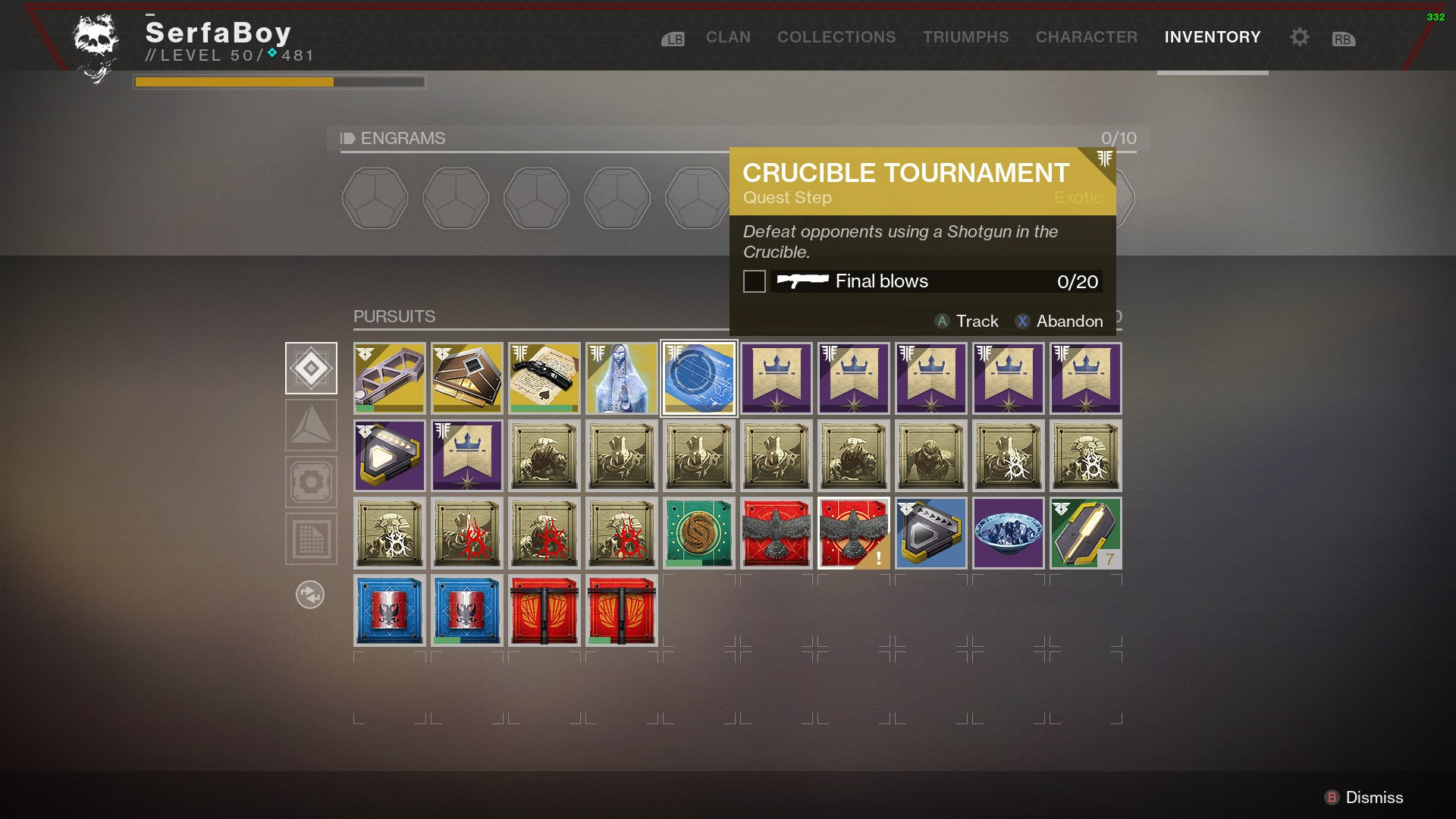 The First Step Requires 20 Shotgun Kills In Crucible