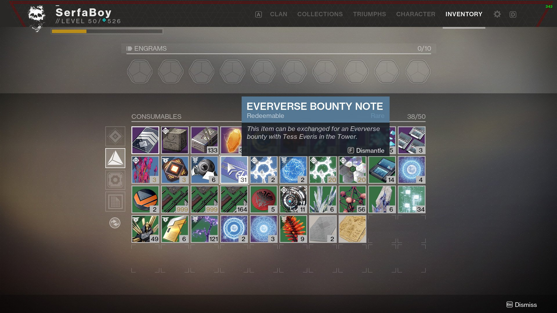 How to get Eververse Bounty Notes in Destiny 2 | Shacknews