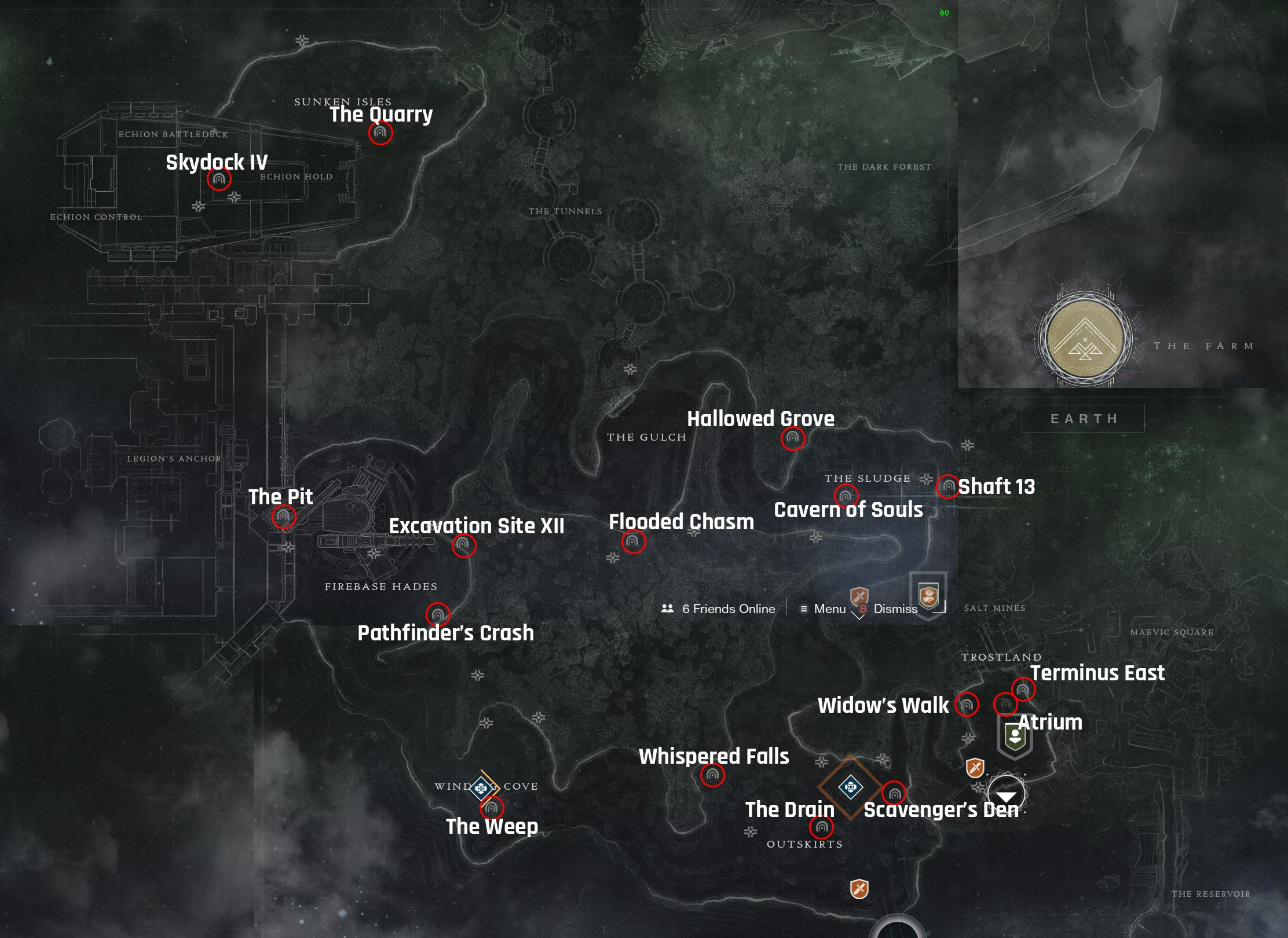 Destiny 2 Lost Sectors EDZ