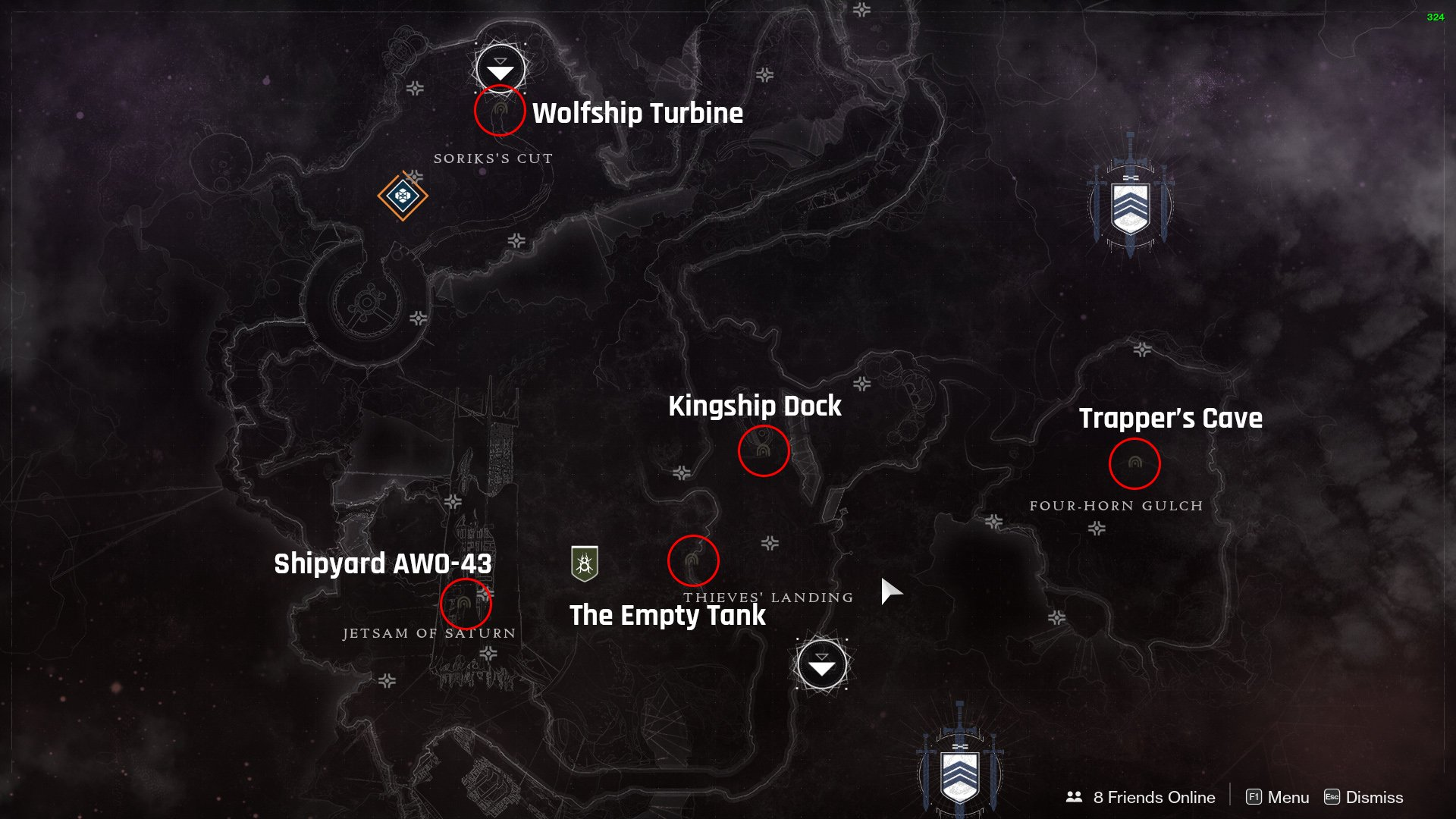 Destiny 2 Lost Sectors Tangled Shore