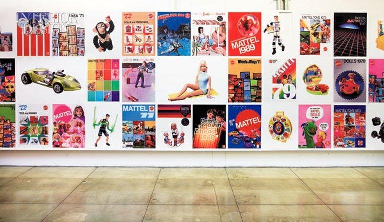 Mattel Design Center.