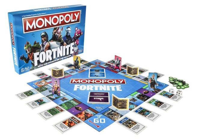 Fortnite Monopoly Brings Cosmetics And Loot Chests To The