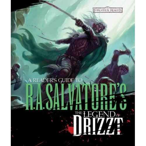 Athans wrote a comprehensive guide to author R. A. Salvatore's Drizzt character and adventures.