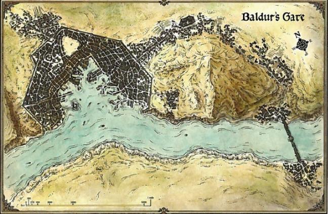 Baldur's Gate.