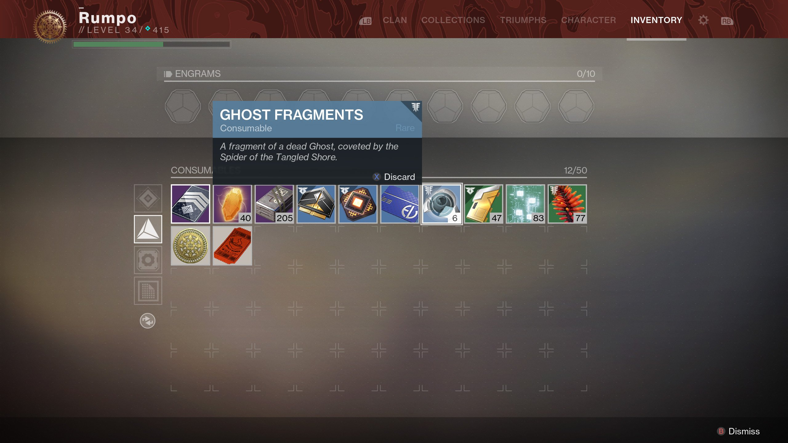 Destiny 2 Ghost Fragments