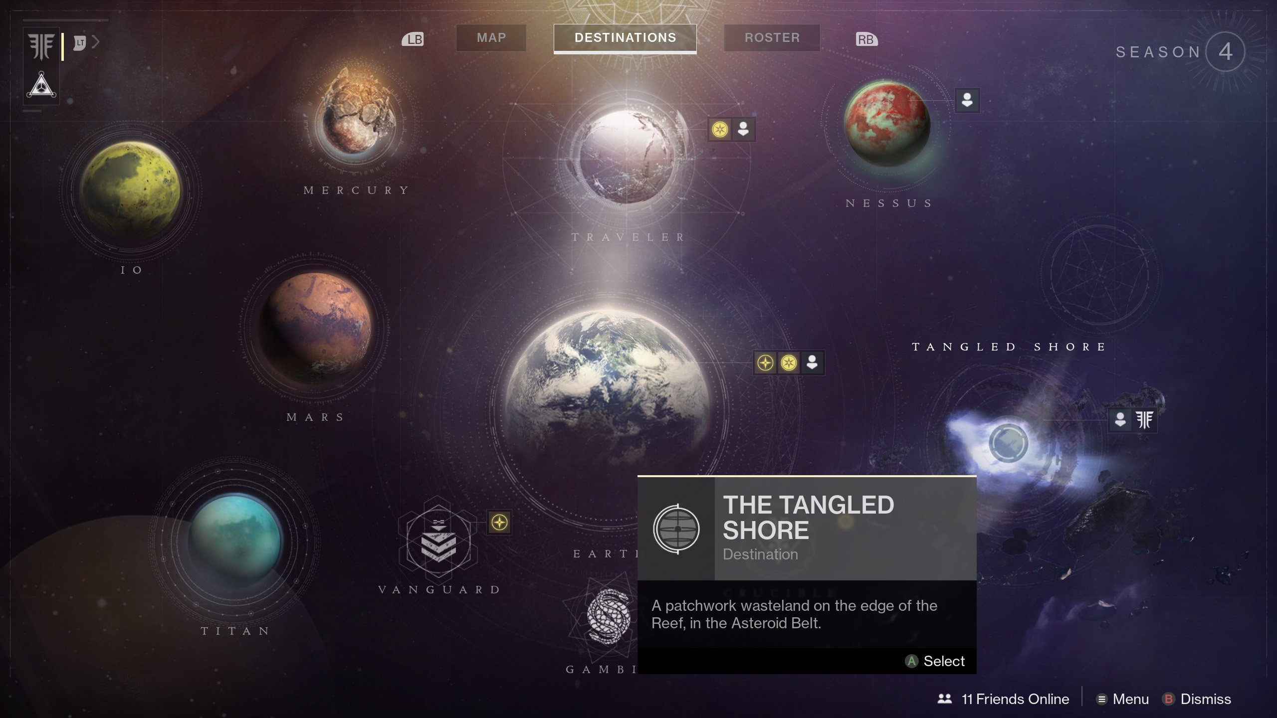 Ghost Fragments Tangled Shore Destiny 2