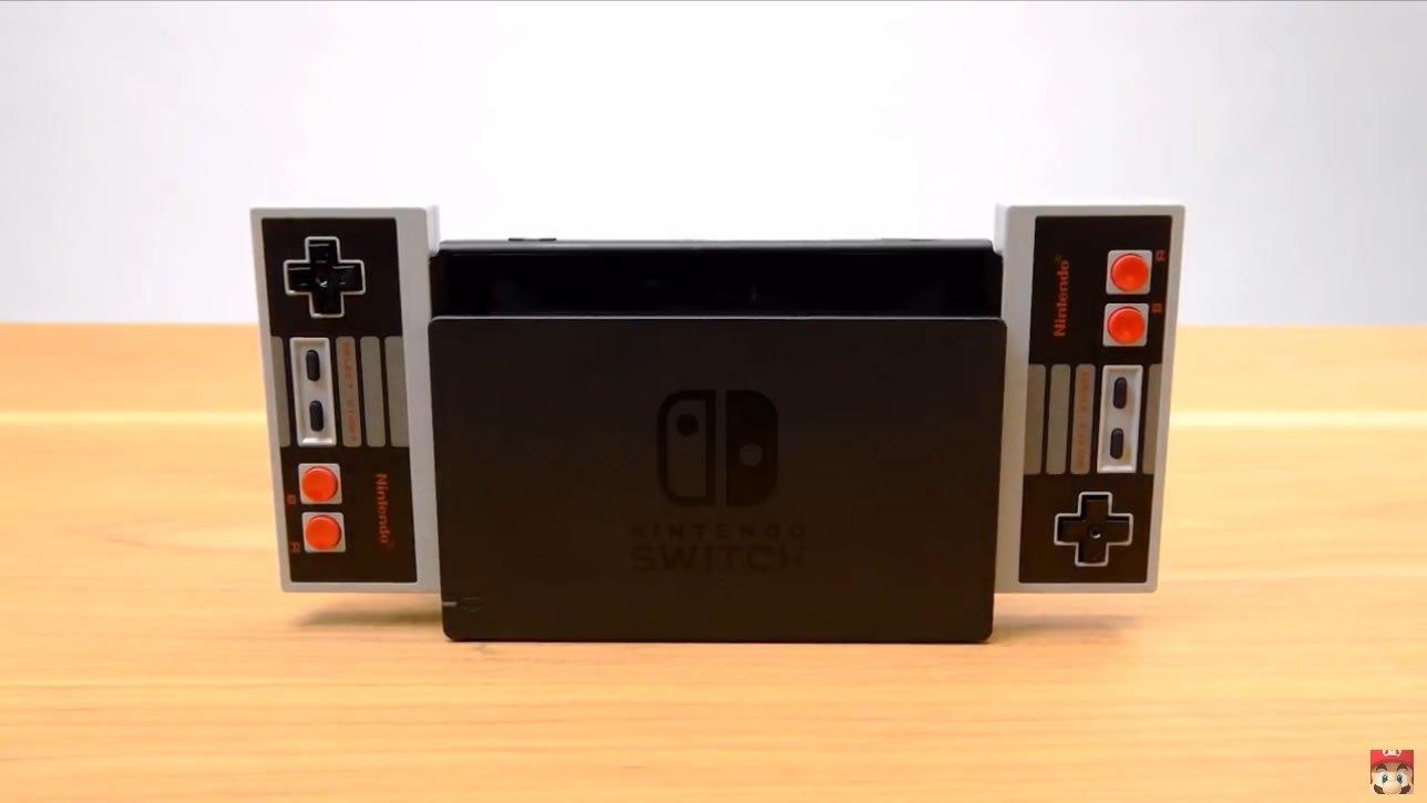 nintendo reveals new nes style nintendo entertainment system switch