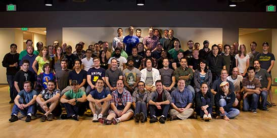 Obsidian team photo found on the company's website.