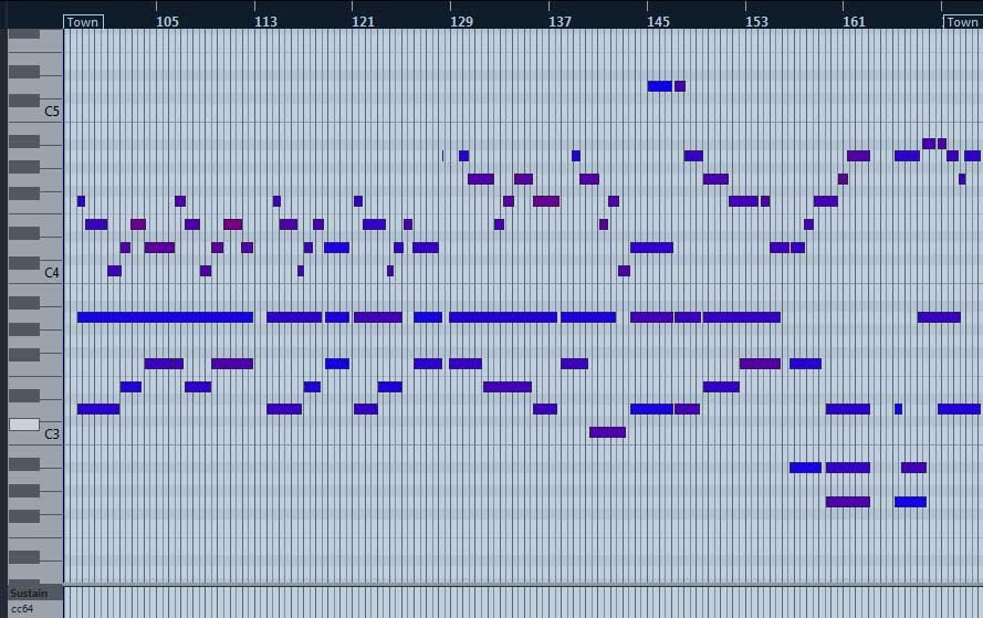 Adding orchestral colors to a track.