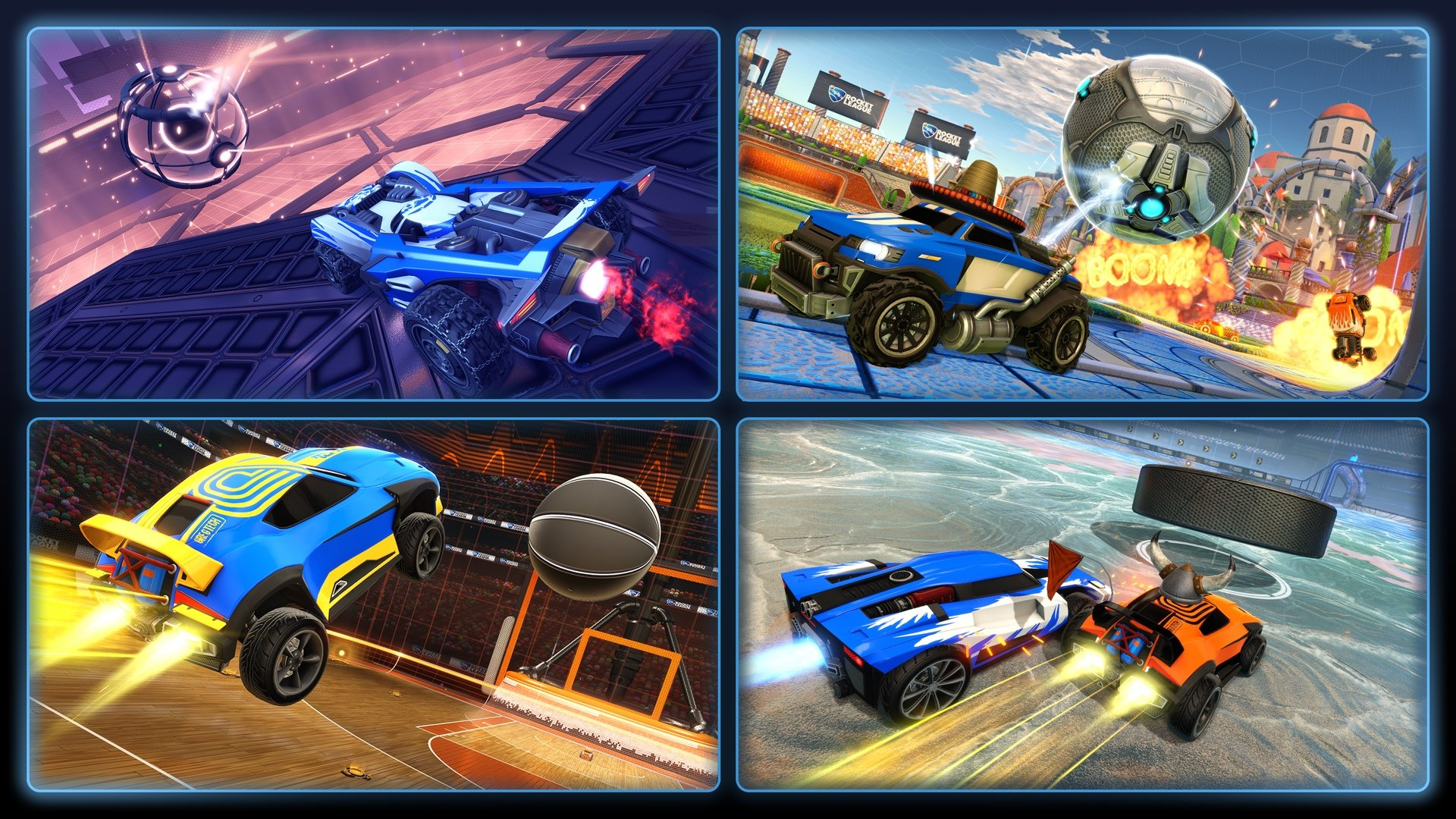 Rocket League to open Season 9 and launch competitive