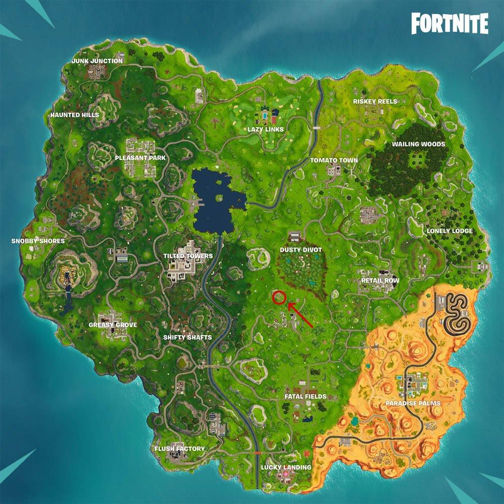 Shifty Shafts Treasure Map How To Complete Fortnite Season 5 Week