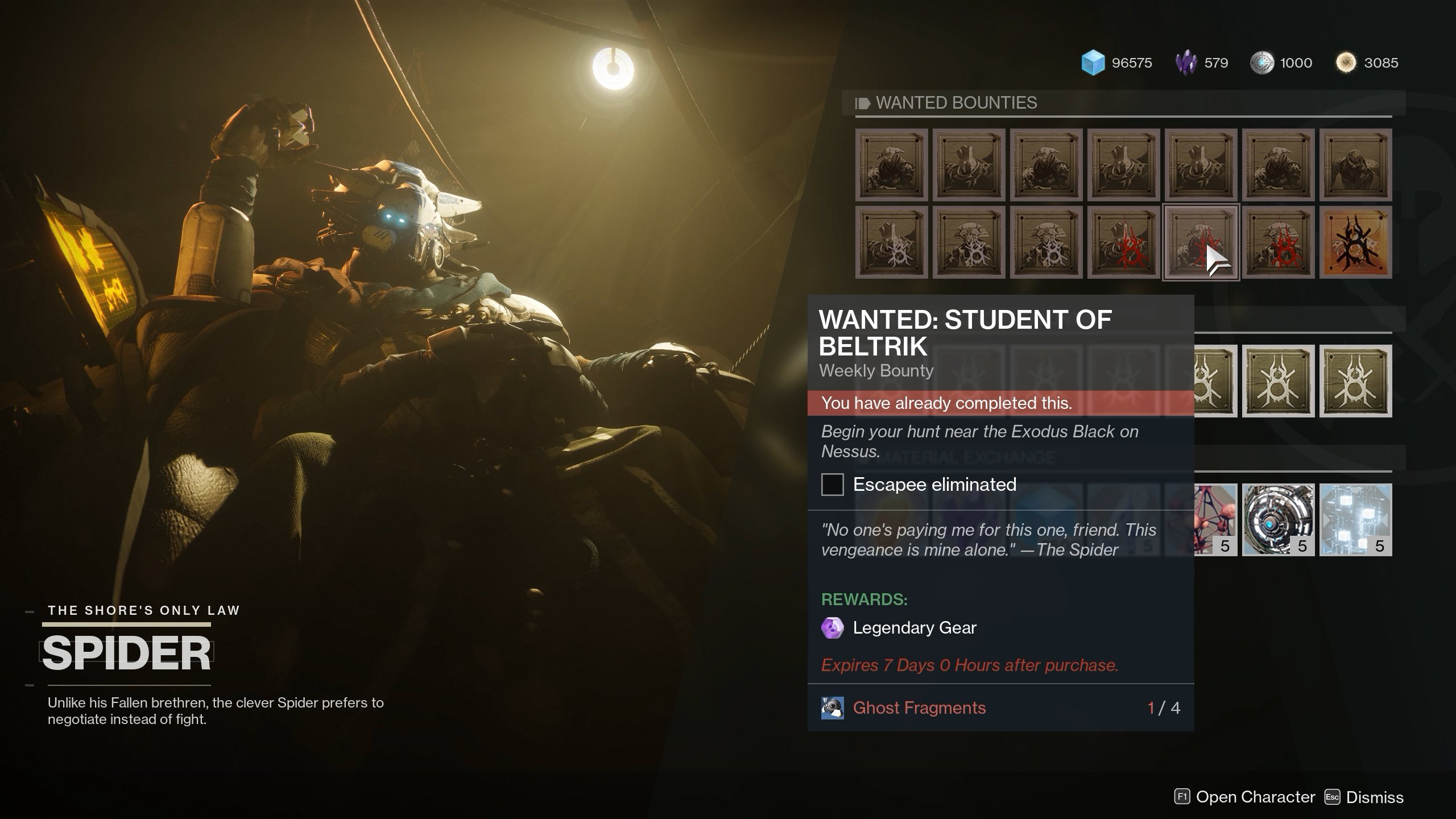 The Wanted Bounty for Student of Beltrik