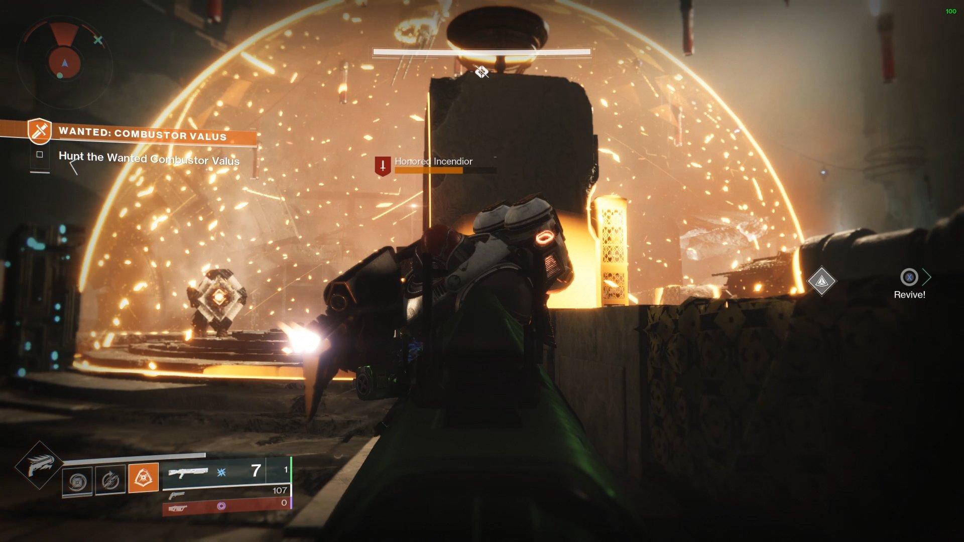 Destiny 2 Combustor Valus