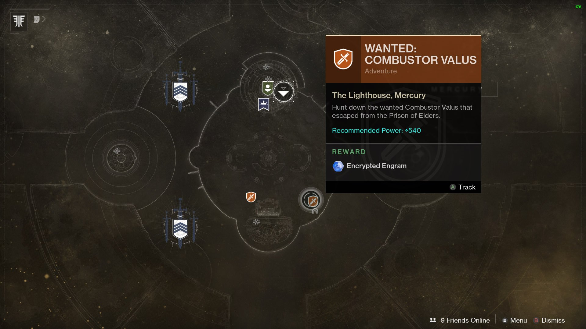 Destiny 2 Wanted Combustor Valus