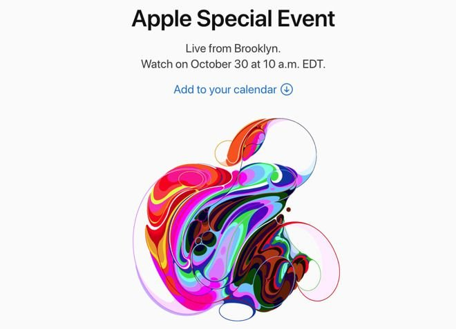 Apple Special Event focusing on iPad and Mac announced
