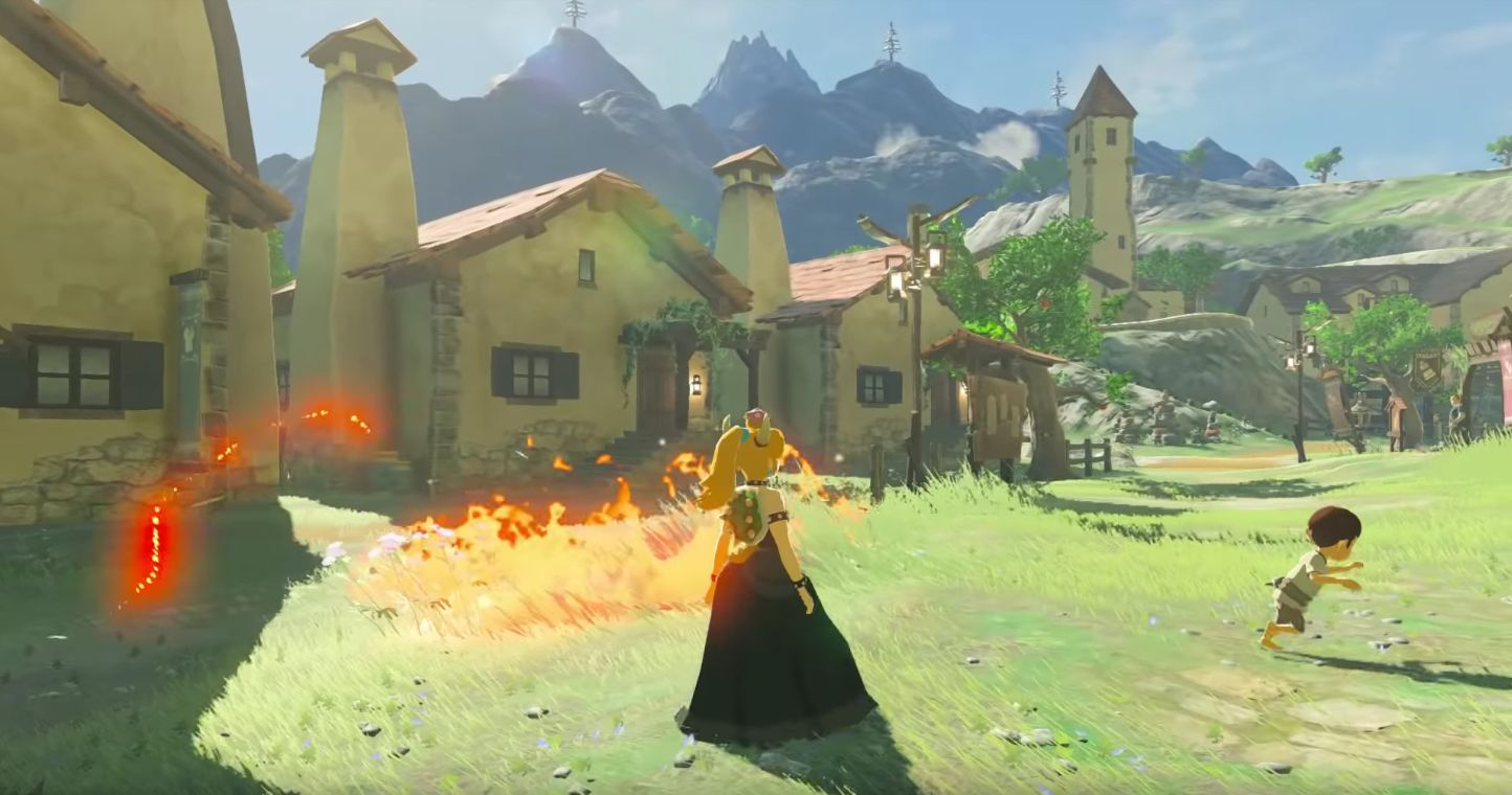 Play as Bowsette in Breath of the Wild with this new mod