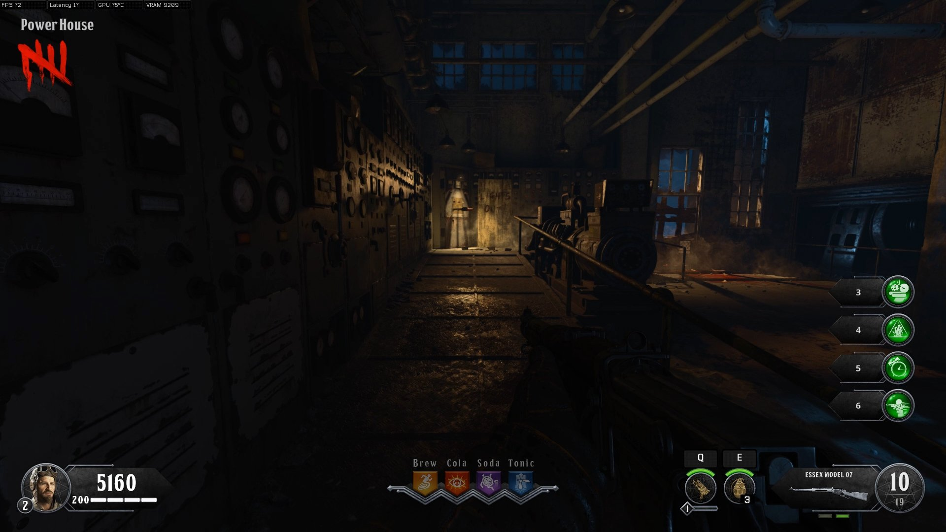 How to turn on the power in Blood of the Dead - Call of Duty