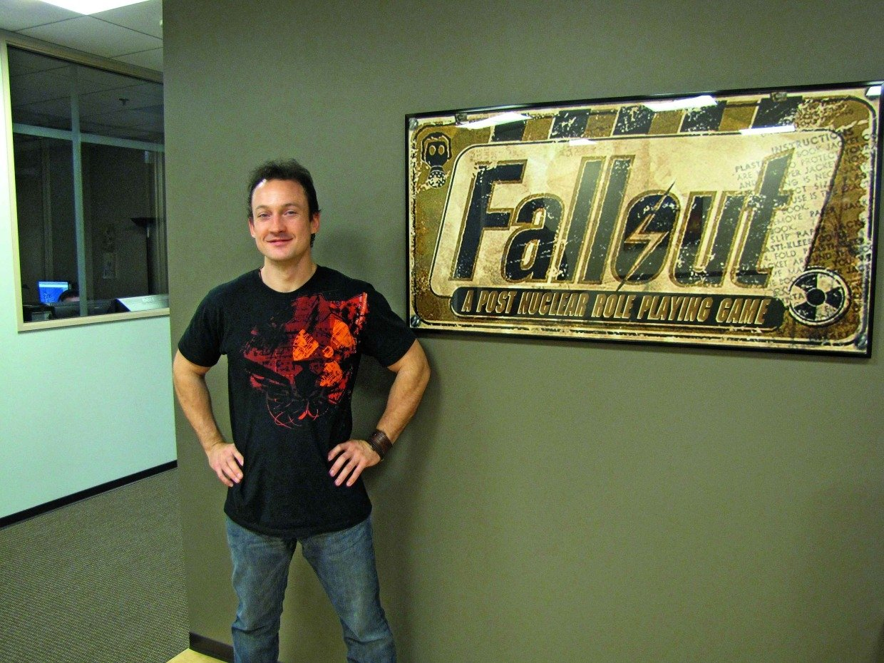 Chris Avellone, designer at Interplay and Black Isle Studios, co-founder and former creative director at Obsidian.