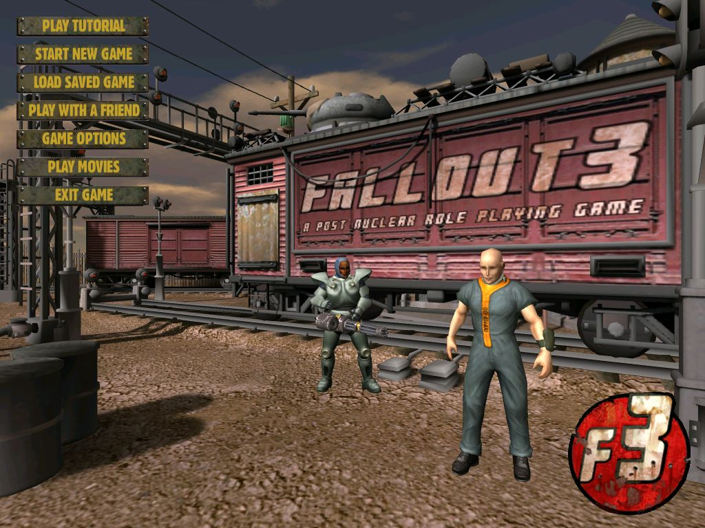 Fallout 3 during its development at Black Isle.
