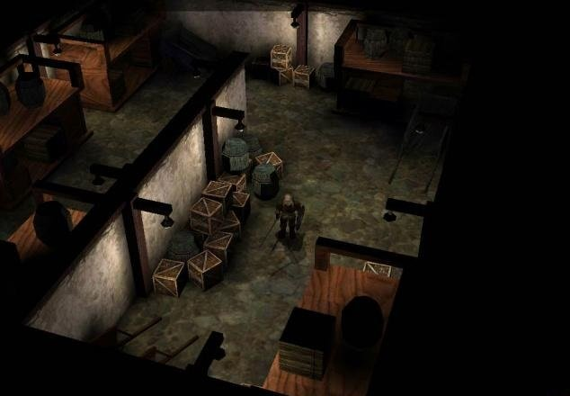 Torn, one of Black Isle's cancelled RPGs.