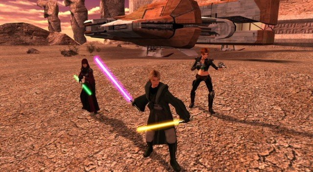 Star Wars: Knights of the Old Republic II - The Sith Lords.