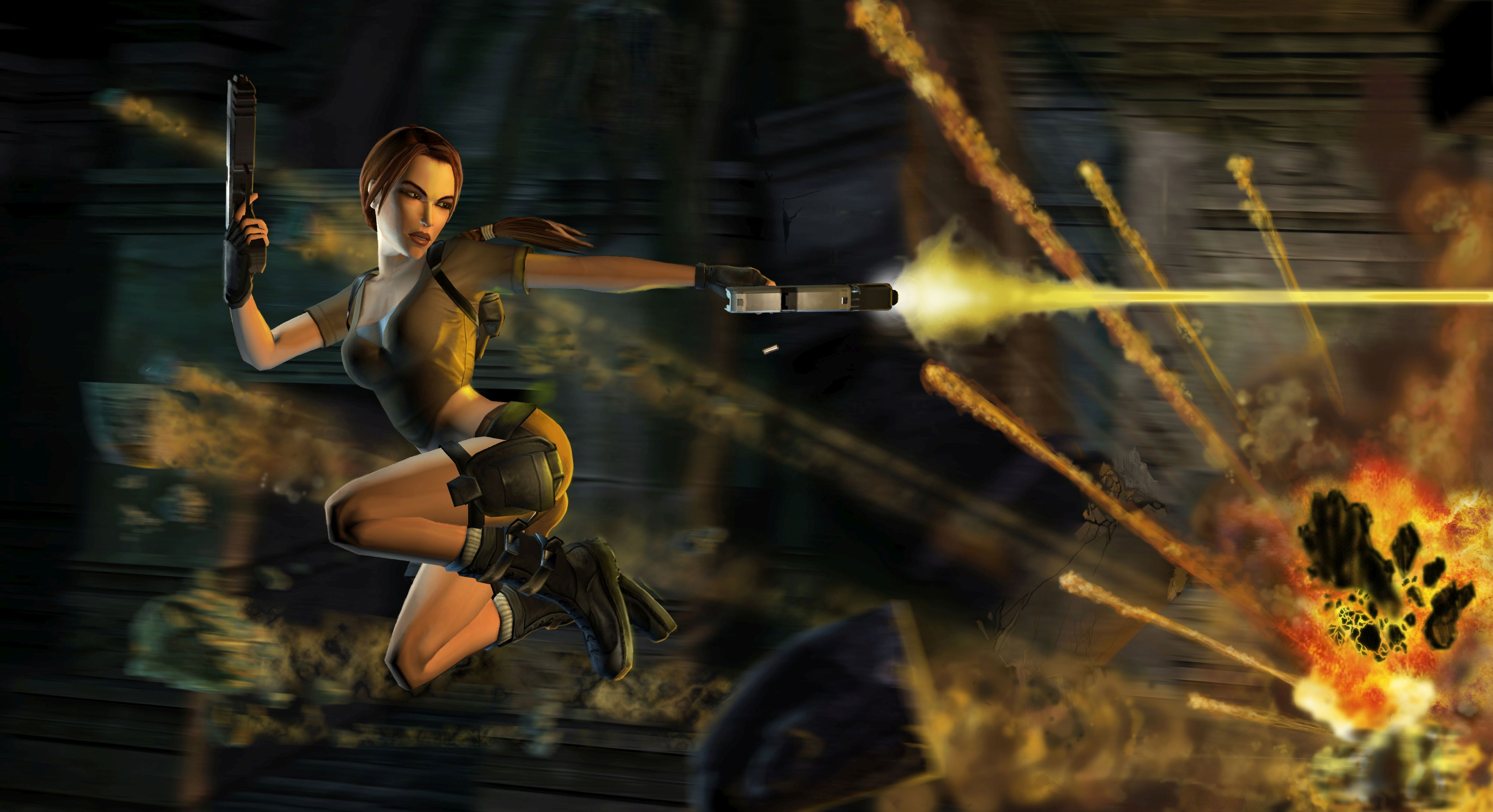 Lara Croft in 2006's Tomb Raider: Legend (image courtesy of Crystal Dynamics).