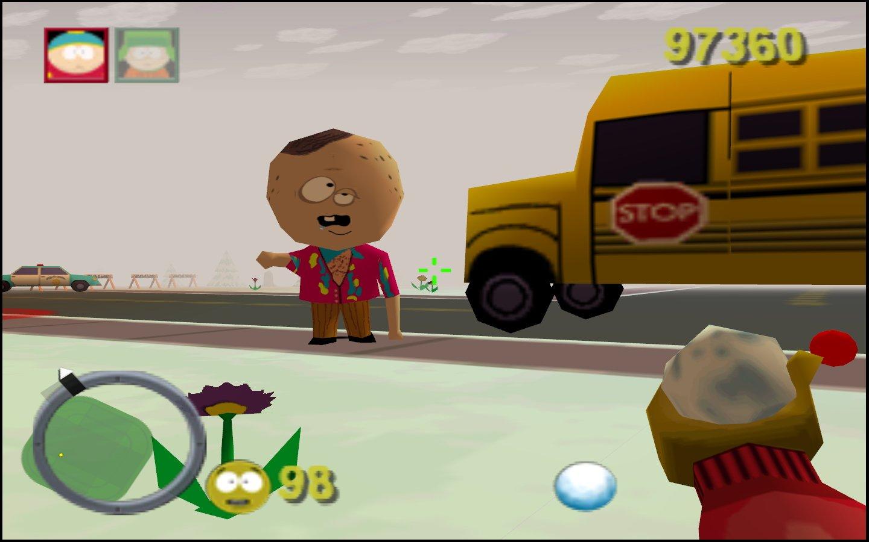 South Park on Nintendo 64.