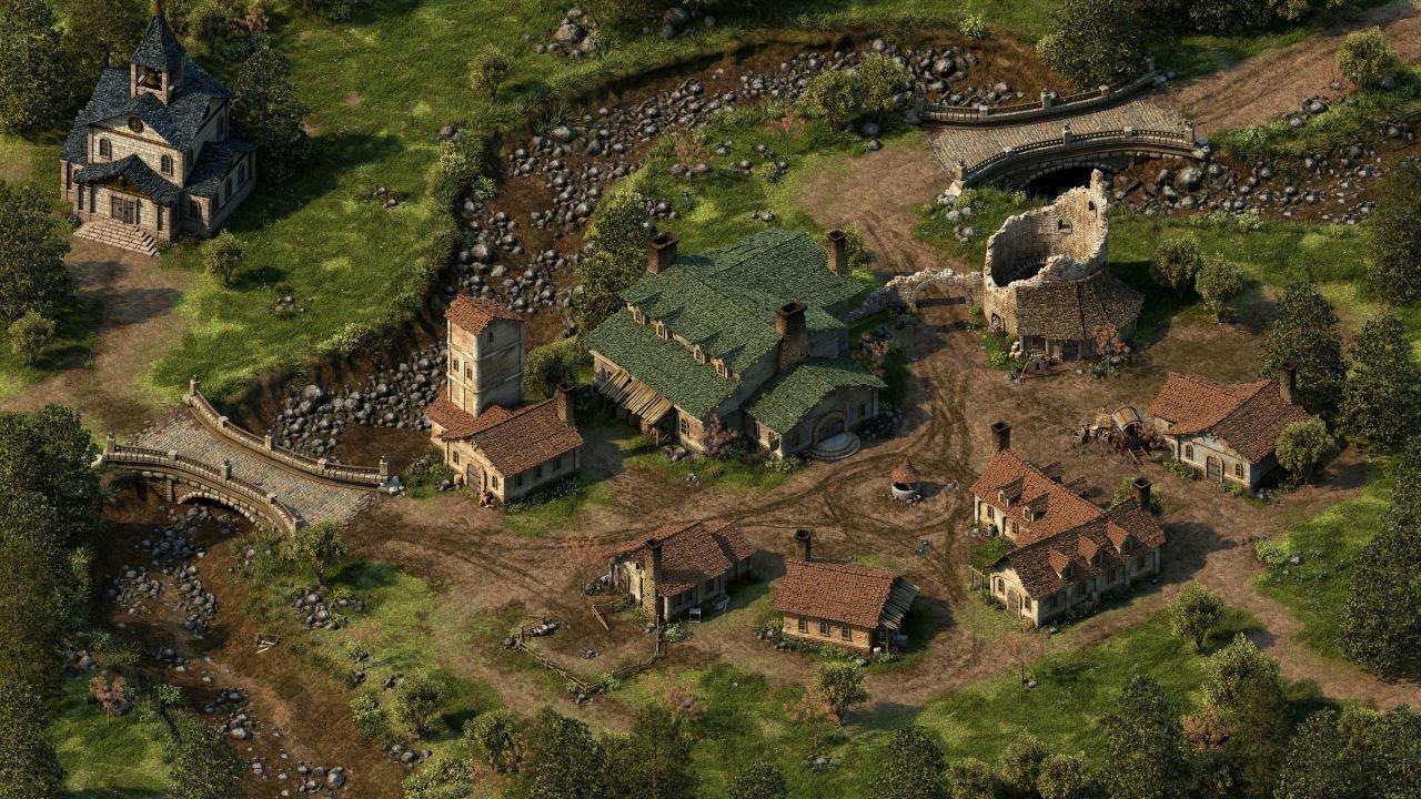 Dyrford Village.