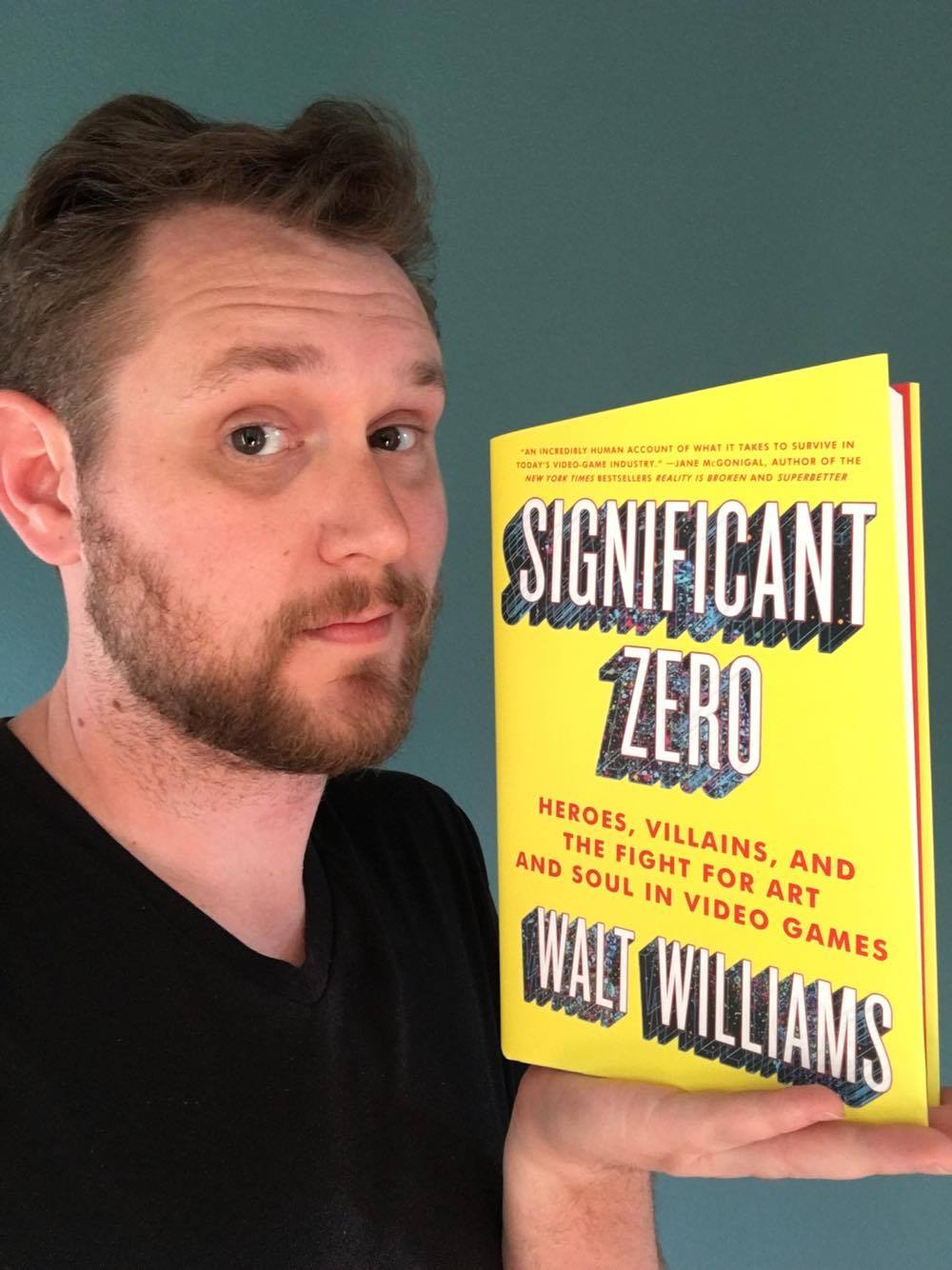 Walt Williams, author of Significant Zero.
