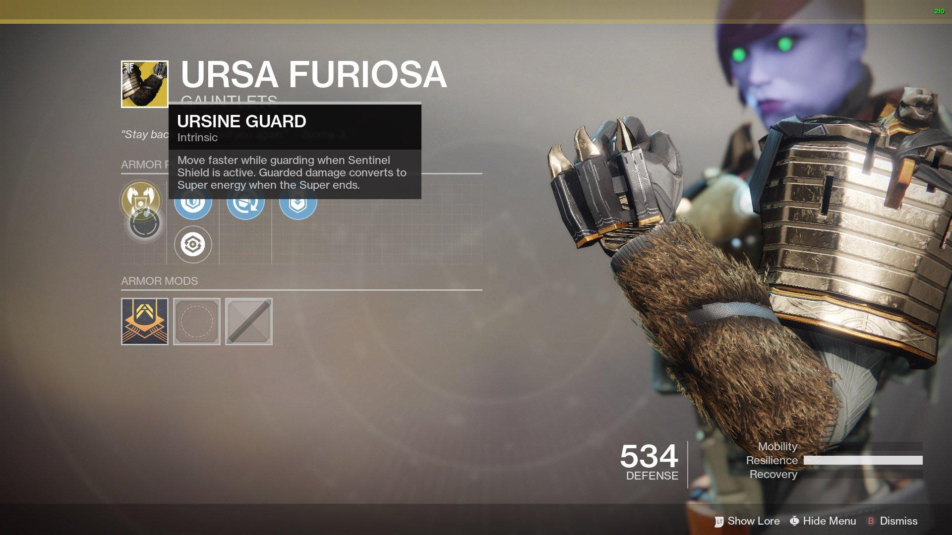 Destiny 2 - All Exotic Titan Armor   Shacknews