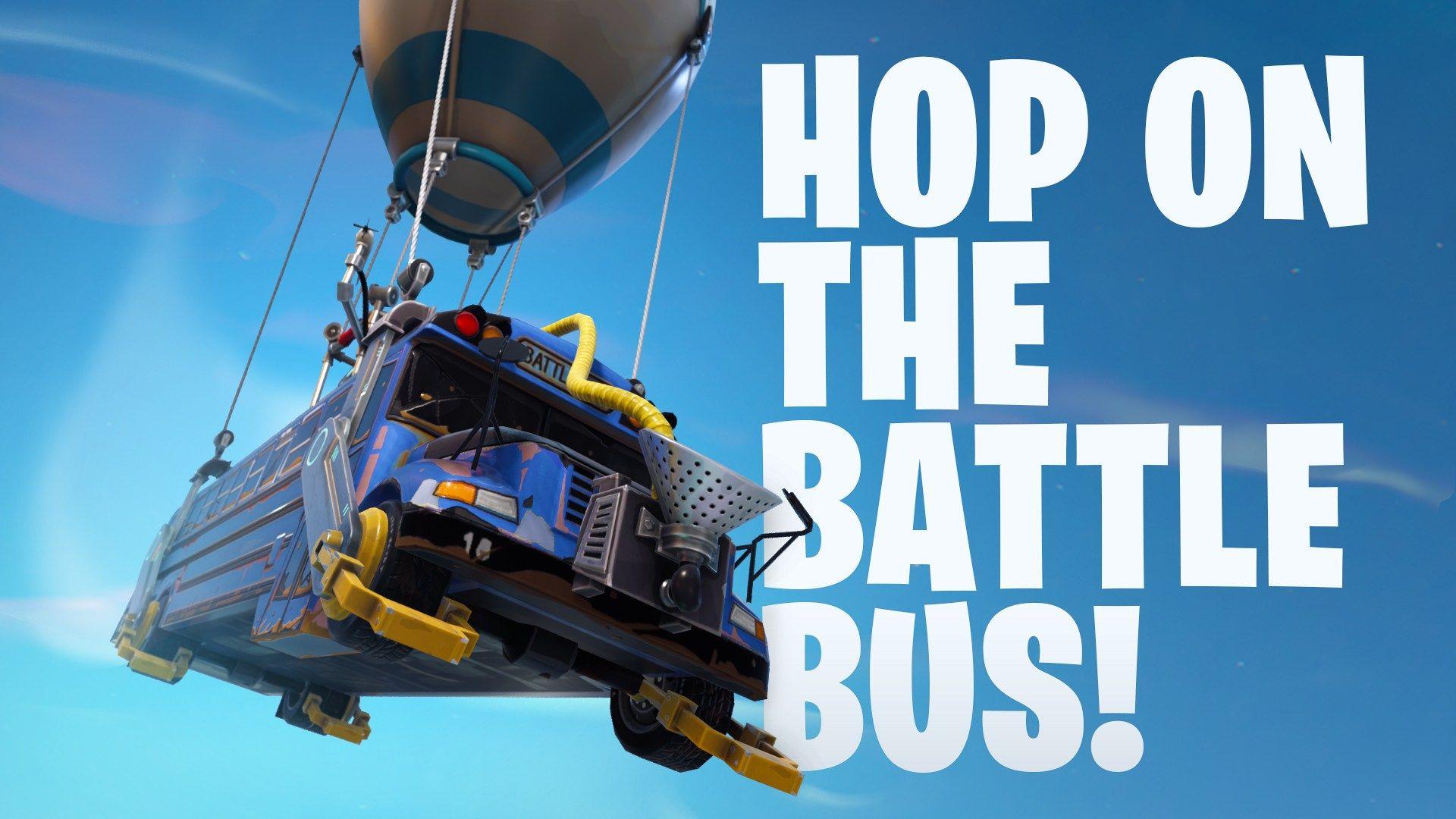 The Fortnite Battle Bus Is Going 25 Faster Now Shortening Battle