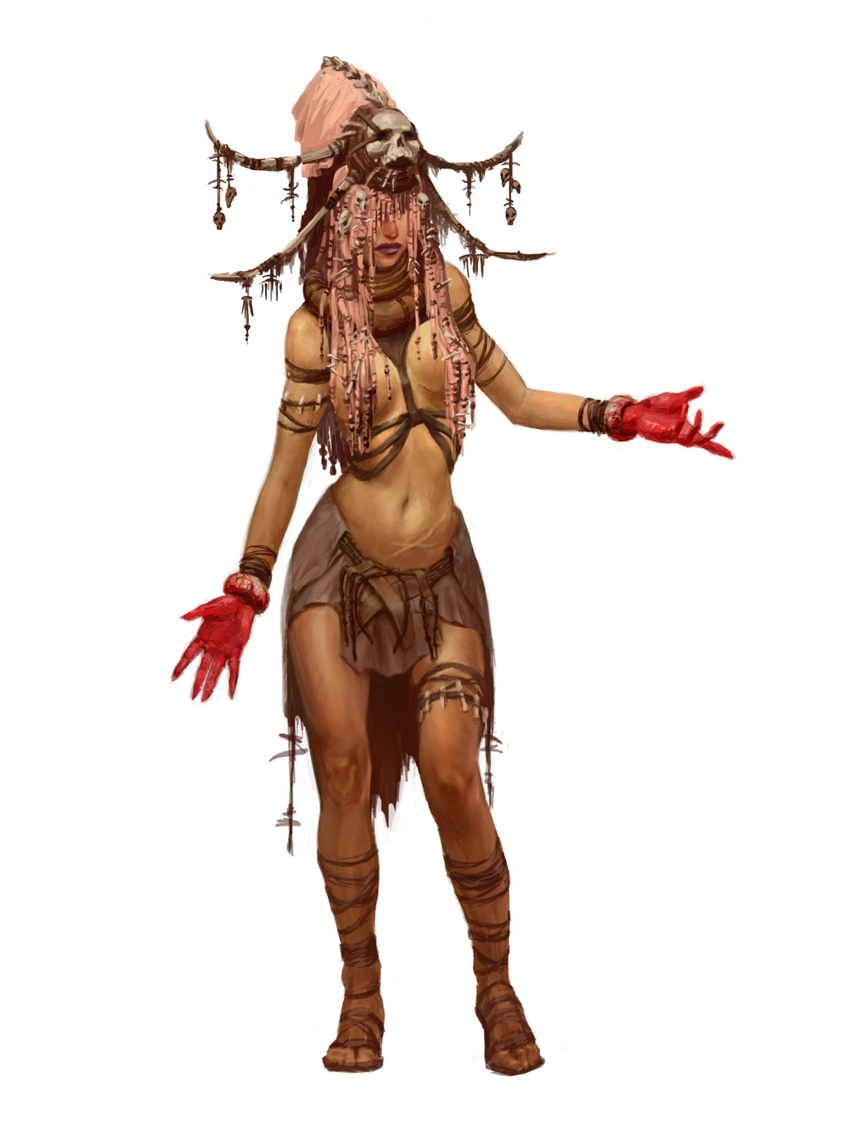 Concept artwork from Gauntlet: Seven Sorrows. (Imagery courtesy of John Romero.)