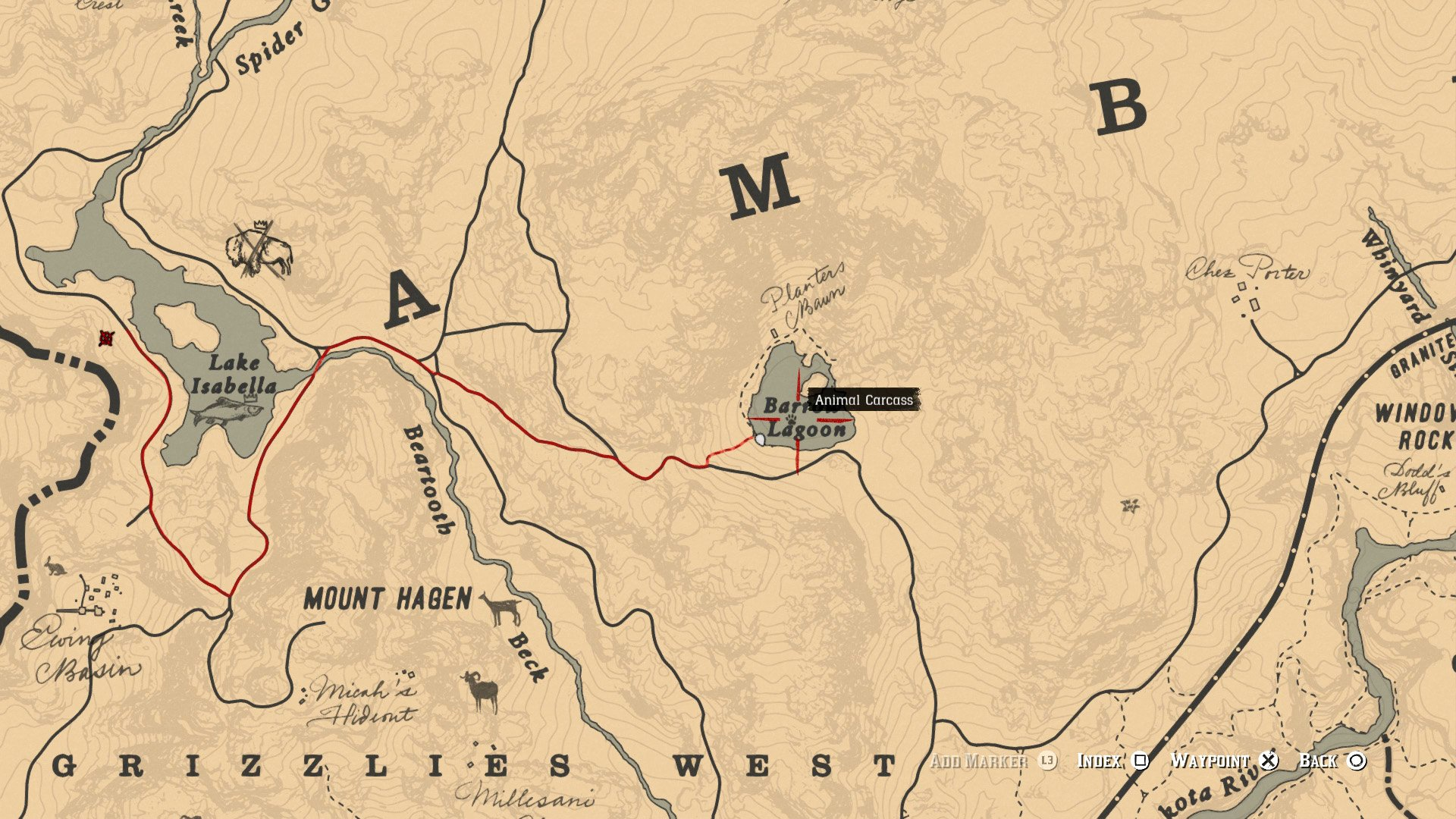 where to find grizzly bears and american black bears in red dead
