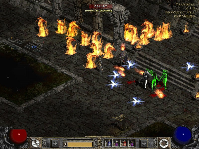 Blizzard North's and Blizzard Entertainment's Diablo II.