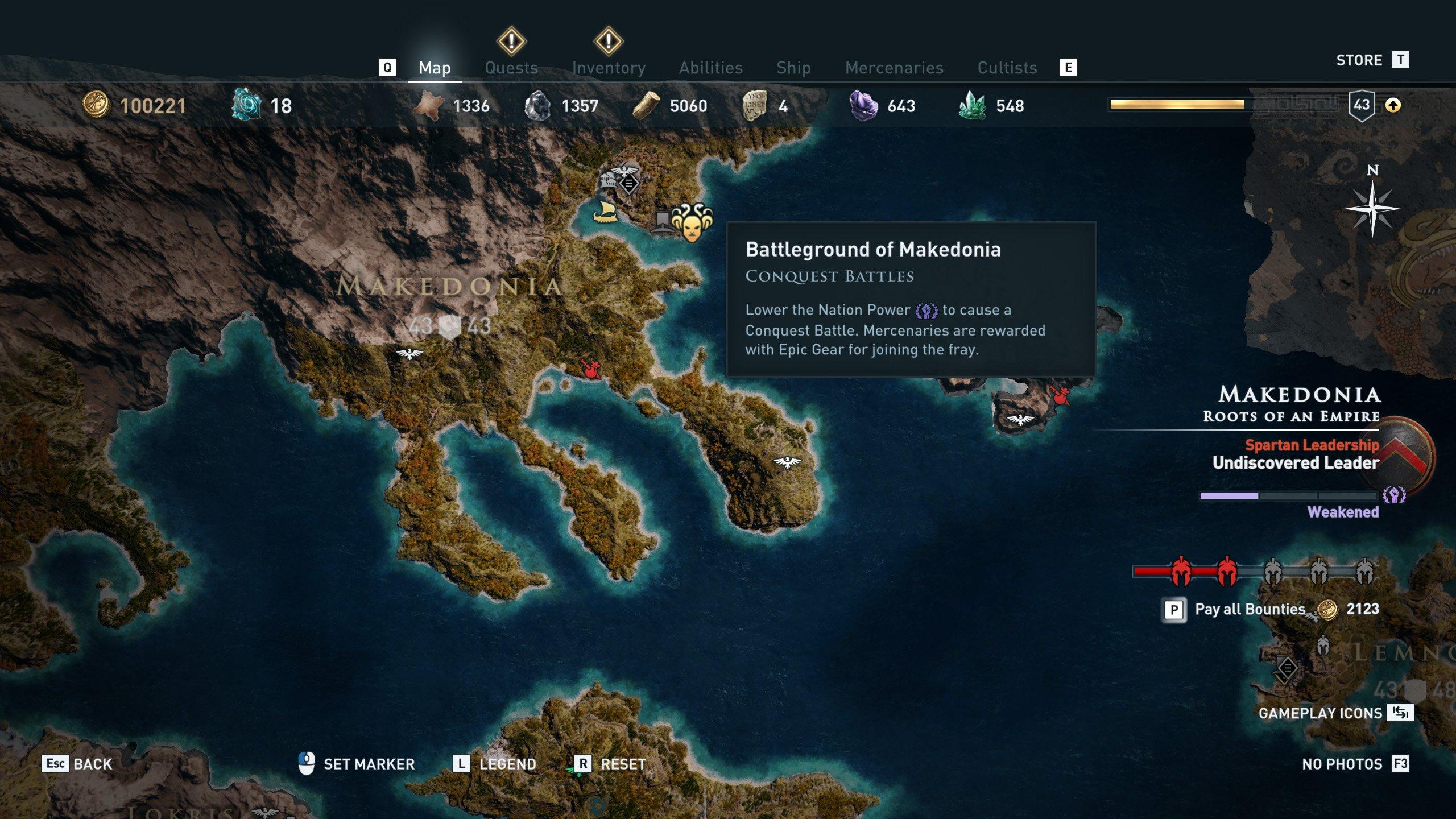 Delian League Locations Assassin S Creed Odyssey Shacknews
