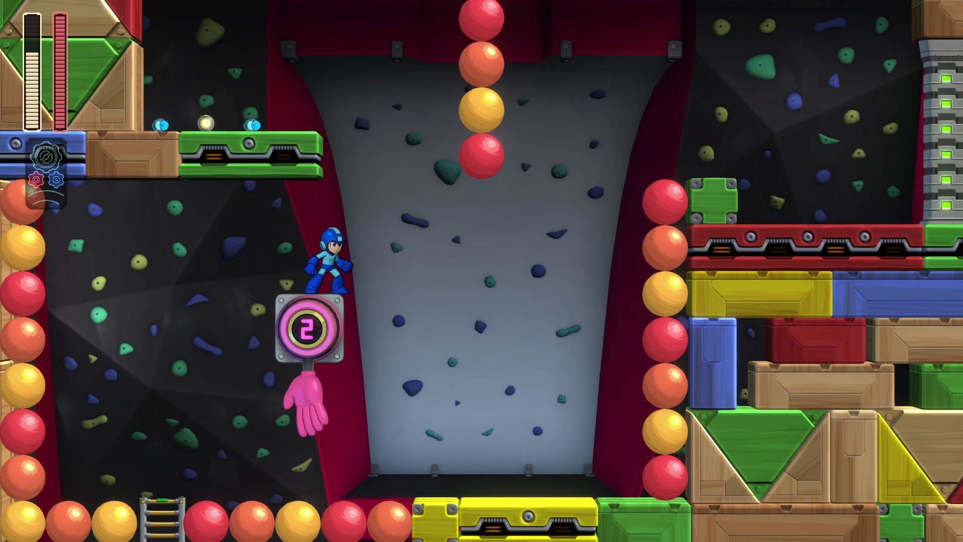 Bounce Man's level is among Mega Man 11's most intense challenges.