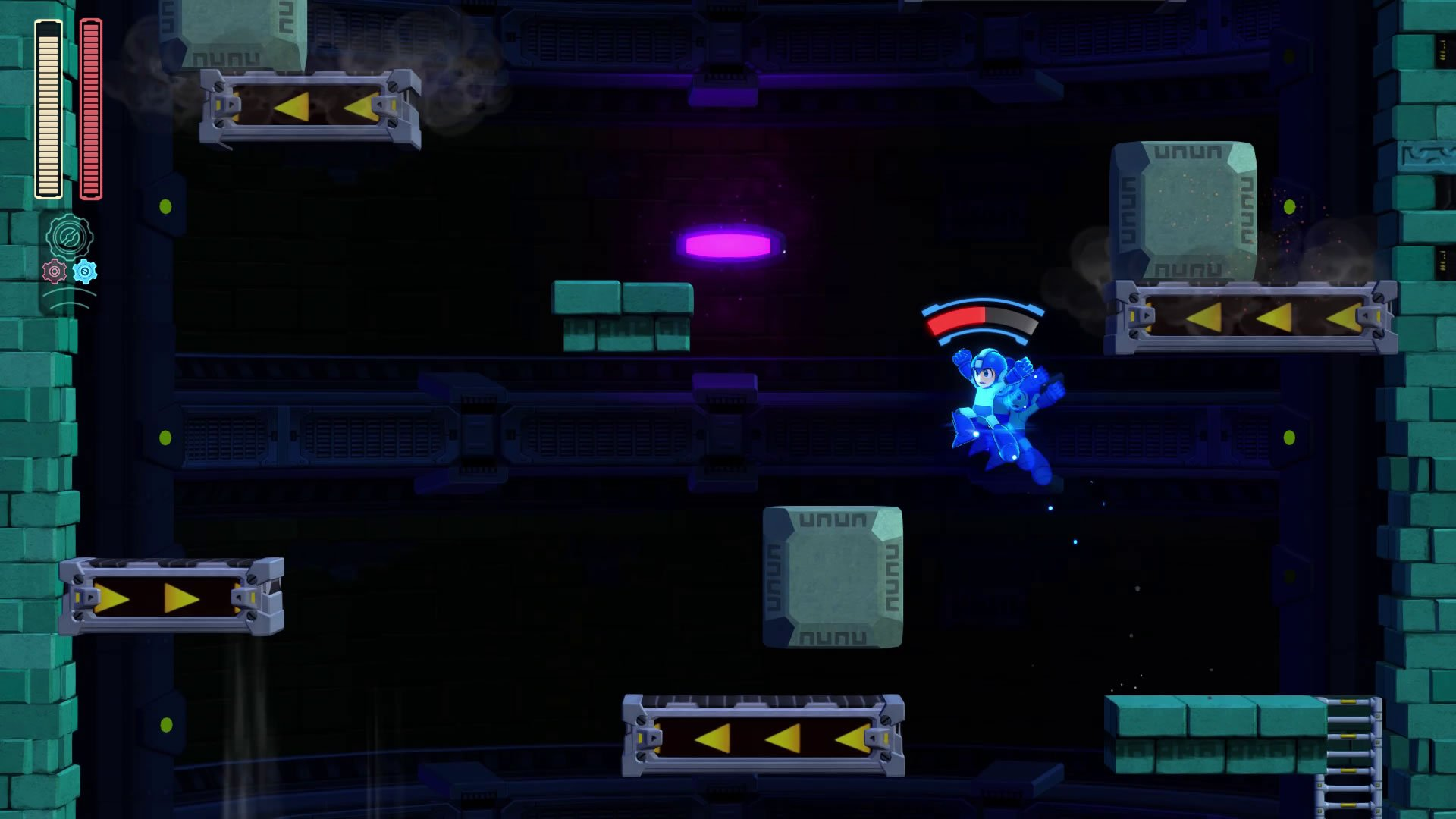 The Speed Gear makes for interesting new platforming challenges.
