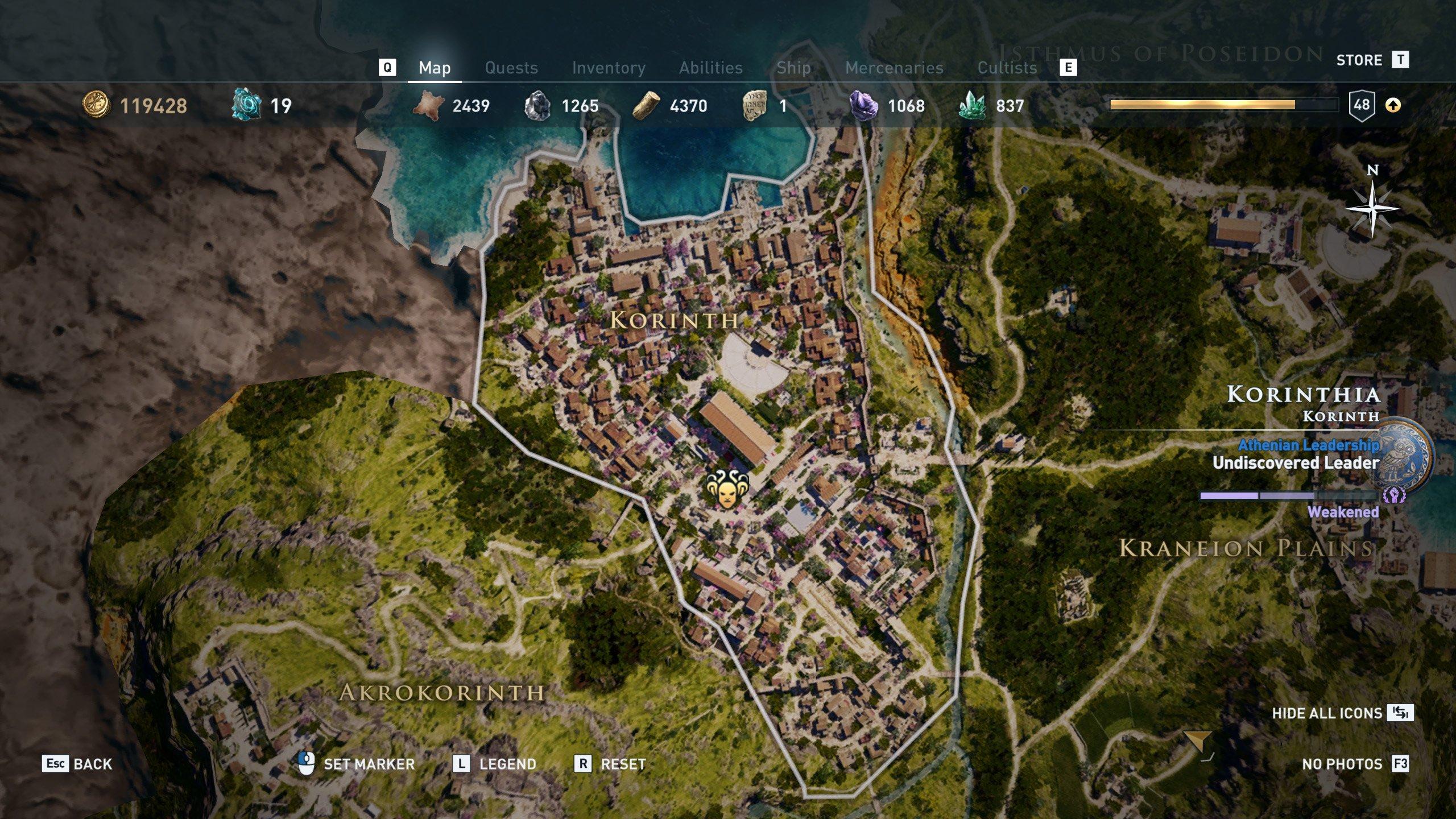 Peloponnesian League Locations Assassin S Creed Odyssey Shacknews