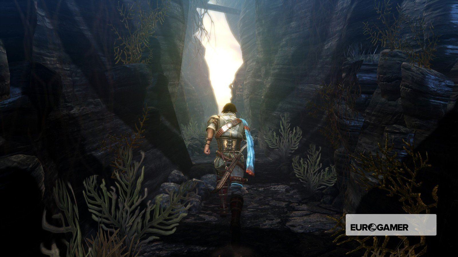 A screenshot from Stormlands. (Image courtesy of Eurogamer.)