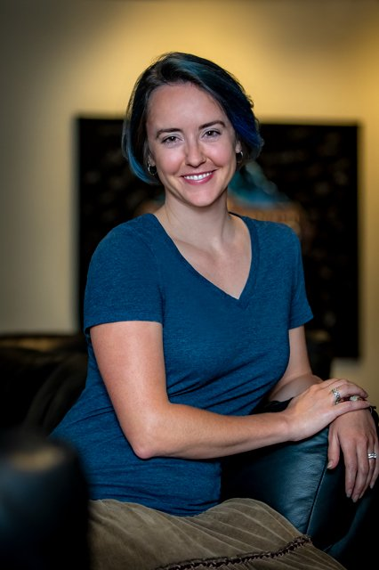 Carrie Patel, co-lead narrative designer. (Photo courtesy of Obsidian.)