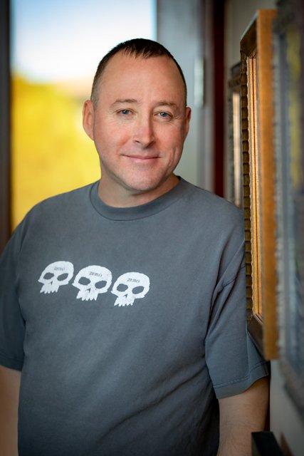 Rob Nesler, art director at Obsidian. (Image courtesy of Obsidian.)
