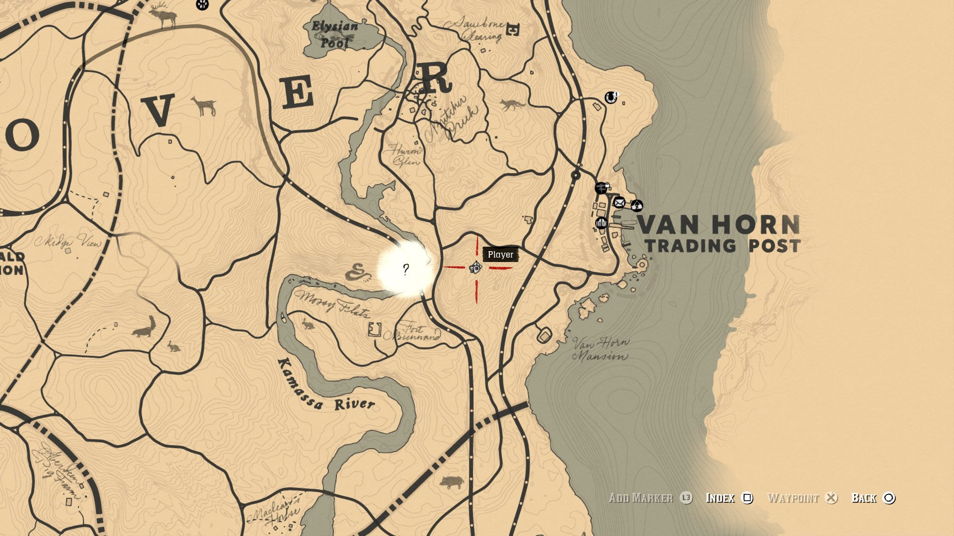 Poisonous Trail Maps and treasure location - Red Dead