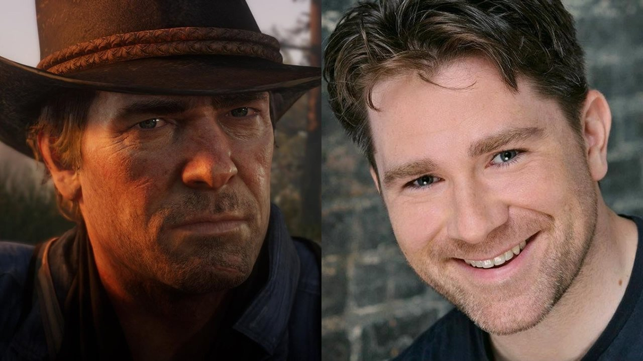 Arthur Morgan and Roger Clark