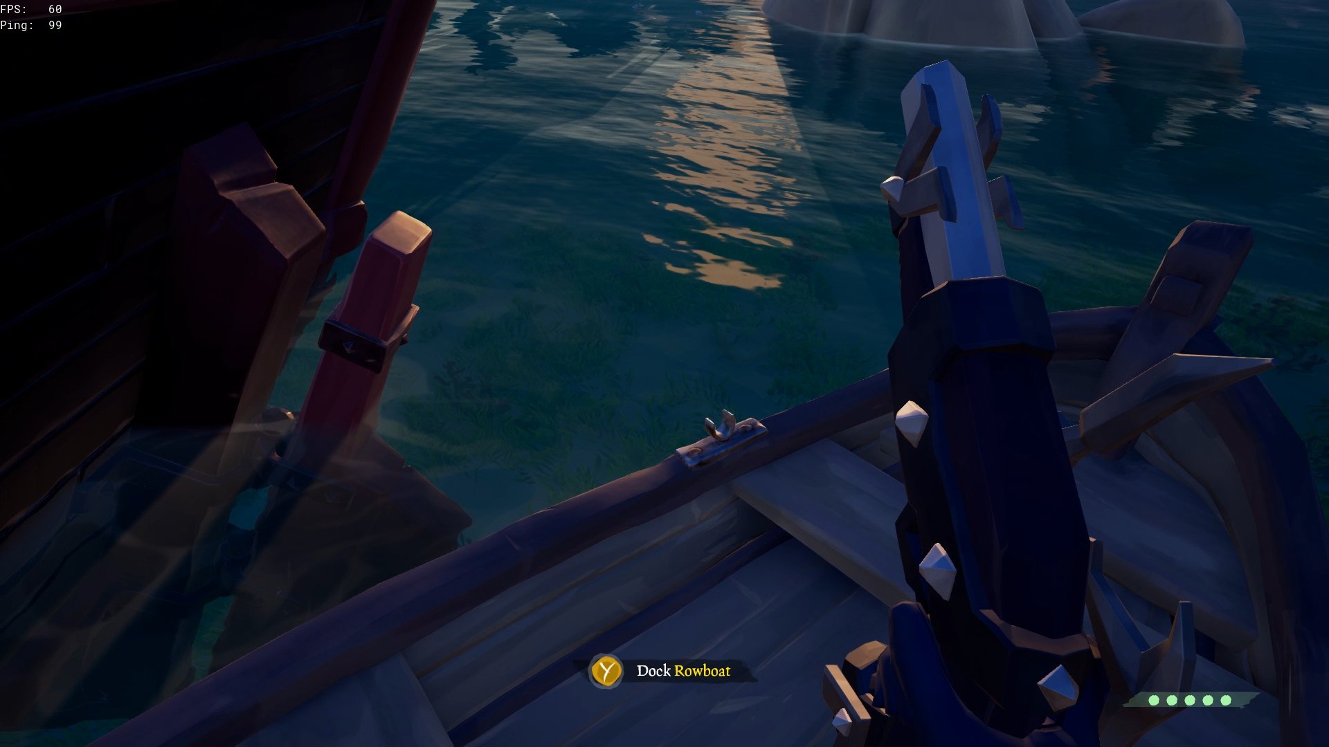 How to use the rowboat in Sea of Thieves | Shacknews