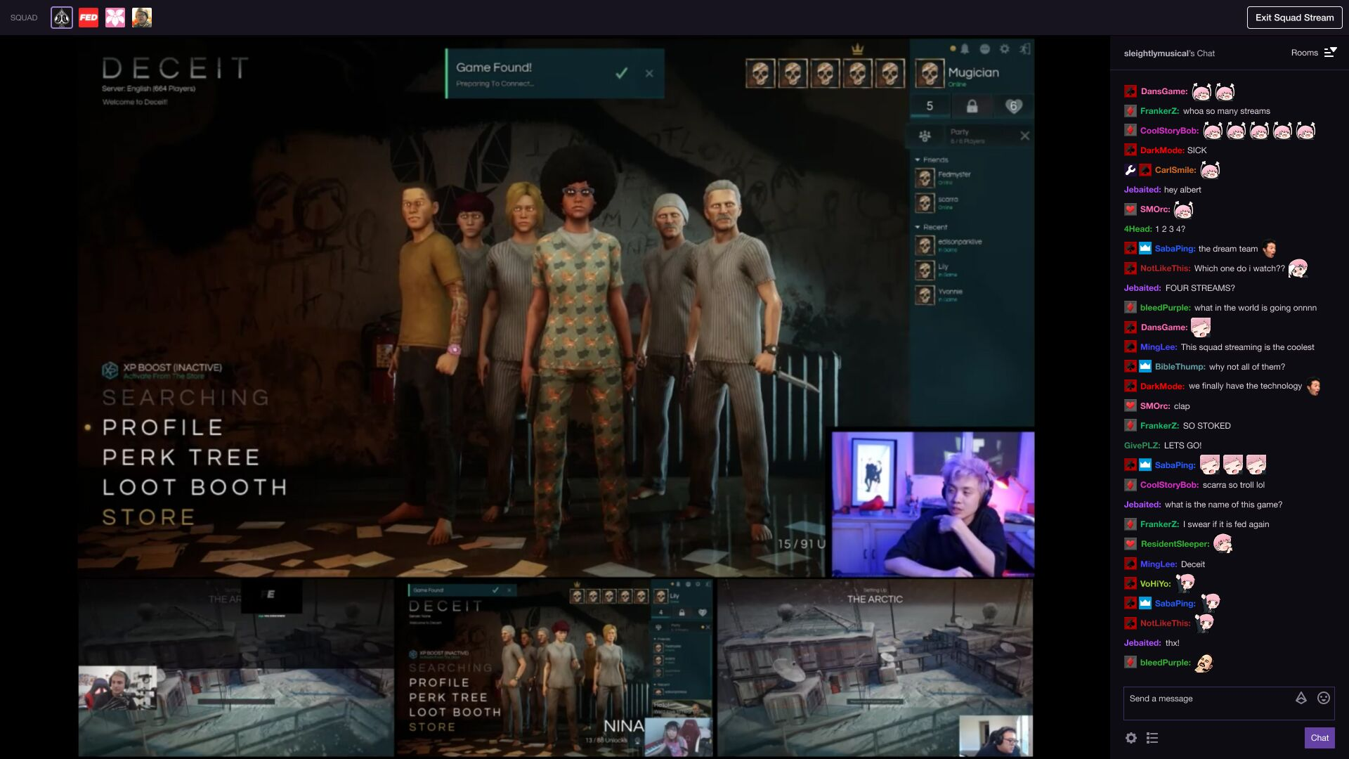 Twitch announces Twitch Squad Stream, Twitch Sings, and