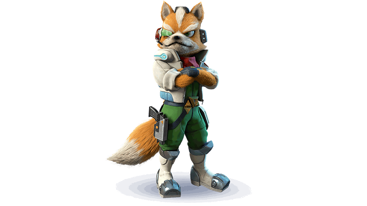 Fox McCloud. Credit via Ubisoft Entertainment.