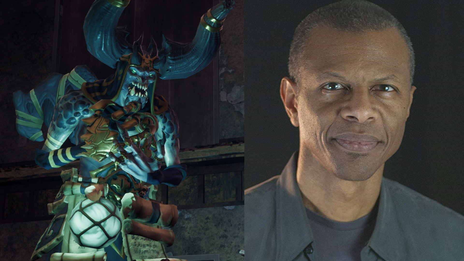 Vulgrim is voiced by Phil LaMarr