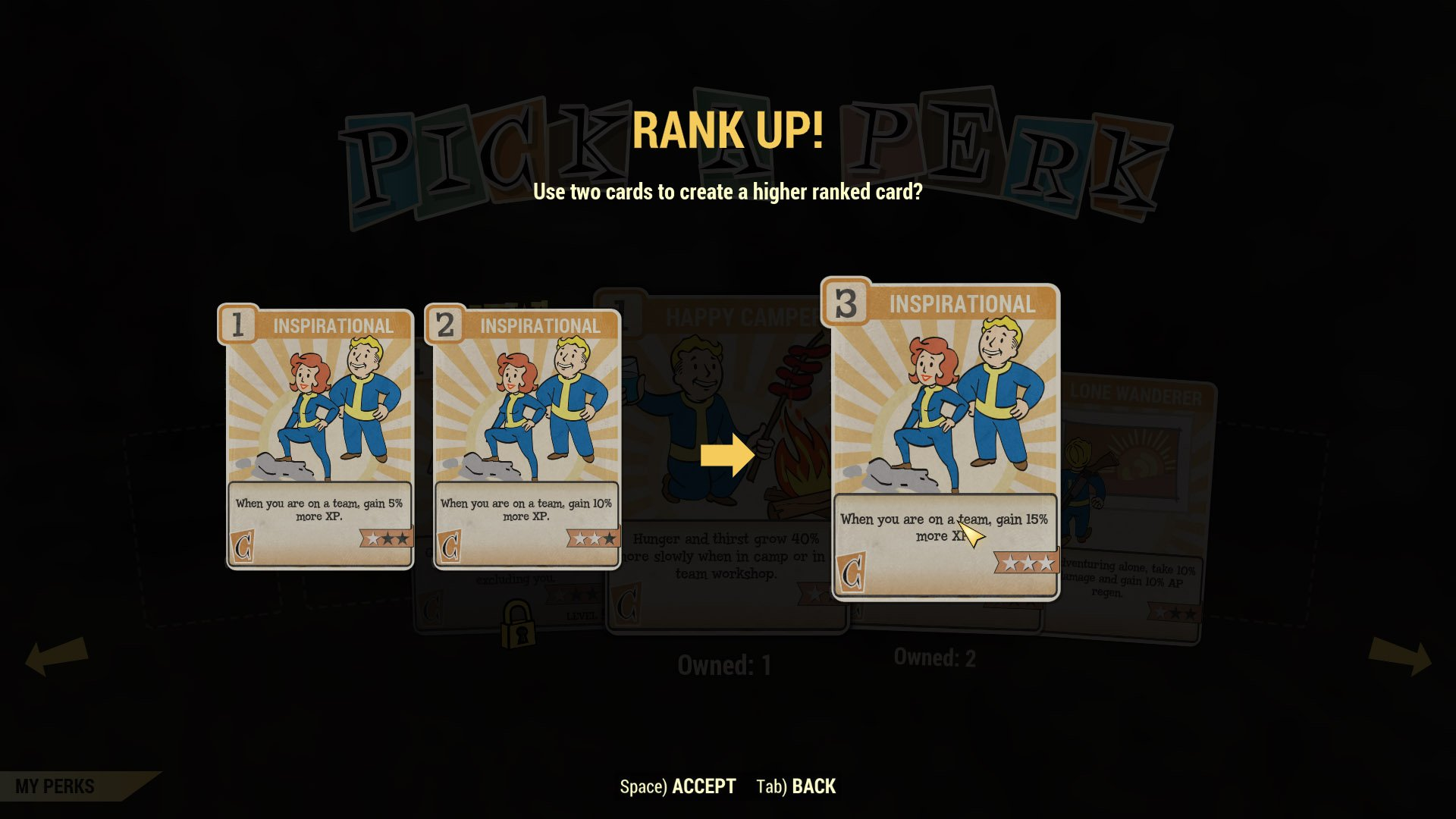 Level up and SPECIAL perk card guide - Fallout 76 | Shacknews