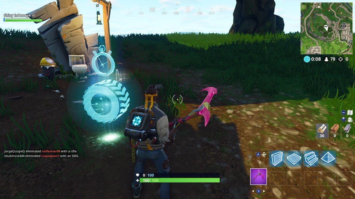 fortnite vehicle time trials flush factory