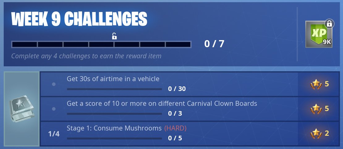 the task of finding the carnival clown boards around the fortnite map isn t too troublesome the real challenge lies in trying to get a score of 10 or - fortnite carnival 2019